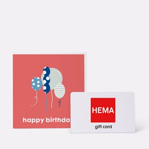 HEMA CDK ENV 2020 Happy Birthday Koraal