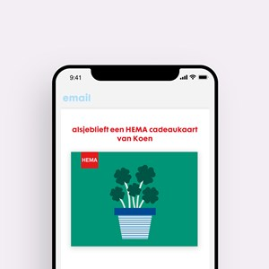 HEMA CDK EGIFT KLAVERTJES